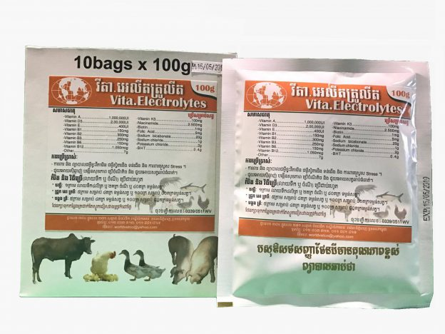 Vita Electrolytes 100g